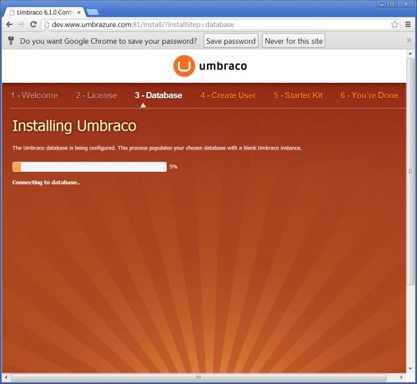 Installing Database